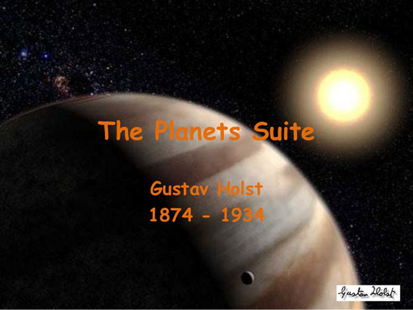 The Planets Suite for clarinet and piano