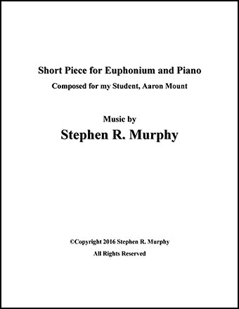 Short Piece for Baritone (Trombone)
