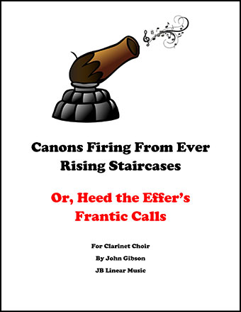 Canons Firing From an Ever Rising Staircase