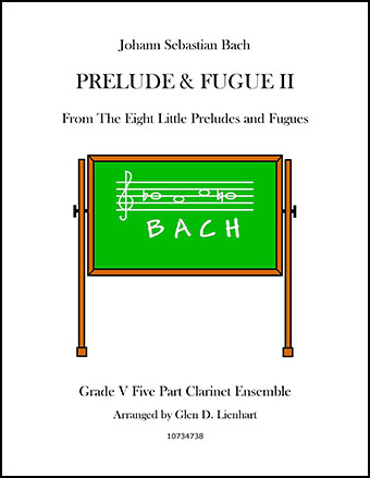 Prelude and Fugue II (Clarinet)