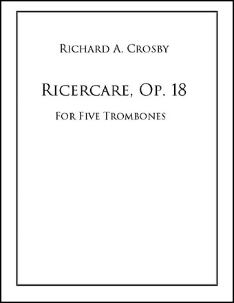 Ricercare, Op. 18