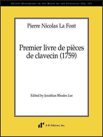 Premier livre de pieces de clavecin (1759)