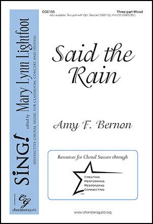 Said the Rain
