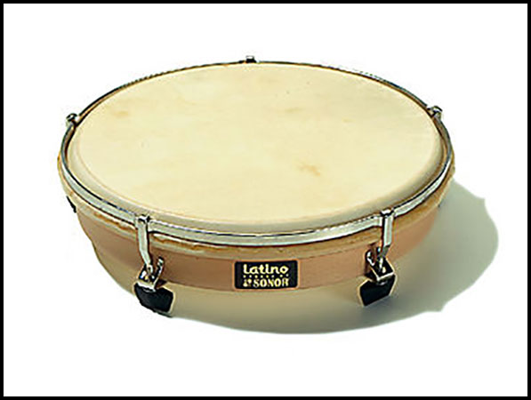 Latino Hand Drum Natural Head