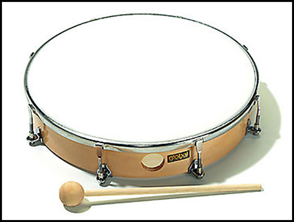 Global Hand Drum Natural Head