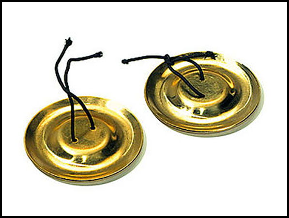 Finger Cymbals pair