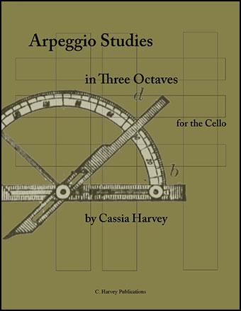 Arpeggio Studies in Three Octaves for Cello