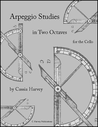 Arpeggio Studies in Two Octaves for the Cello
