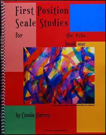 First Position Scales Studies for the Cello #1