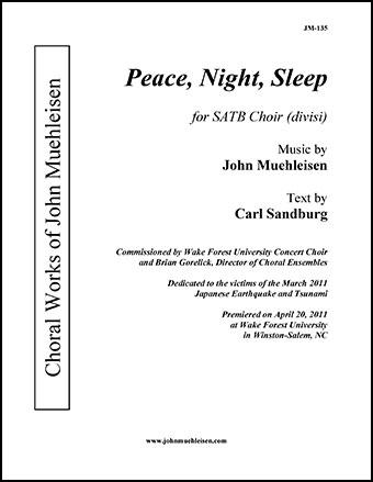 Peace, Night, Sleep