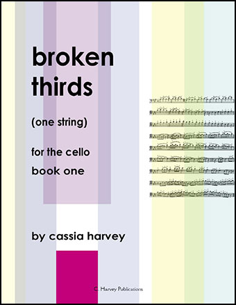 Broken Thirds (One String) for the Cello #1