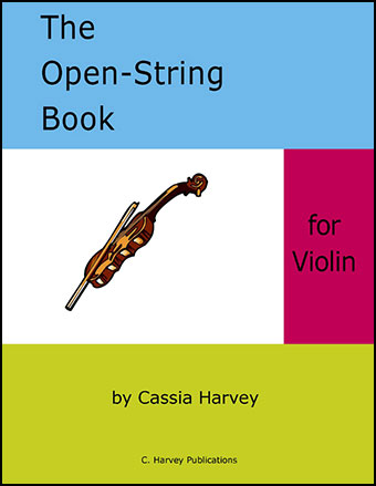 The Open String Book for Violin