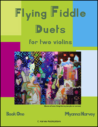 Flying Fiddle Duets for Two Violins #1