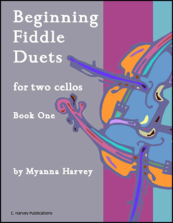 Beginning Fiddle Duets for Two Cellos #1