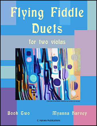 Flying Fiddle Duets for Two Violas #2