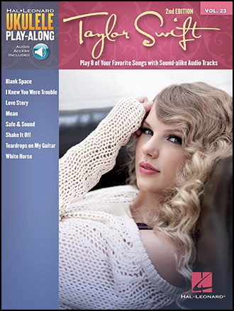 Ukulele Play-Along, Vol. 23: Taylor Swift guitar sheet music cover