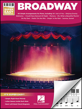Super Easy Songbook: Broadway