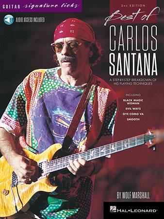 Guitar Signature Licks: Best of Carlos Santana