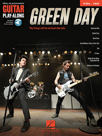 Hal Leonard Guitar Play-Along, Vol. 165: Green Day