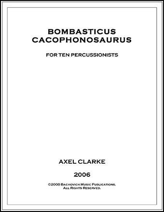 Bombasticus Cacophonosaurus