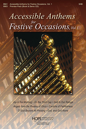 Accessible Anthems for Festive Occasions Cover