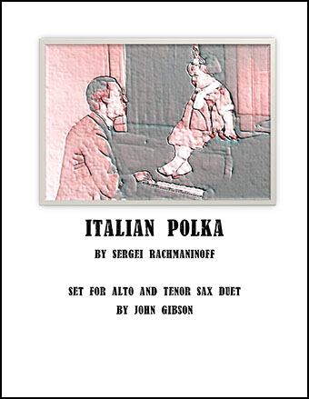Italian Polka for sax duet