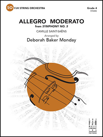 Allegro Moderato from Symphony No. 3 choral sheet music cover
