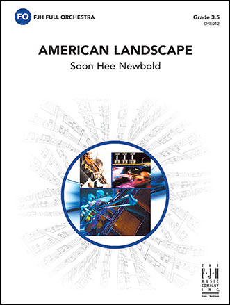 American Landscape choral sheet music cover