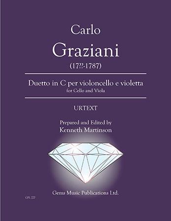 Duetto in C per violoncello e violetta