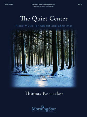 The Quiet Center church choir sheet music cover