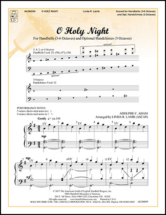 O Holy Night Arr Linda R Lamb Jw Pepper Sheet Music