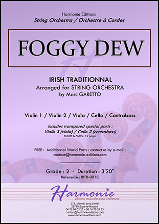 Foggy Dew - Irish Traditional