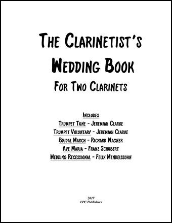 The Clarinetist's Wedding Book