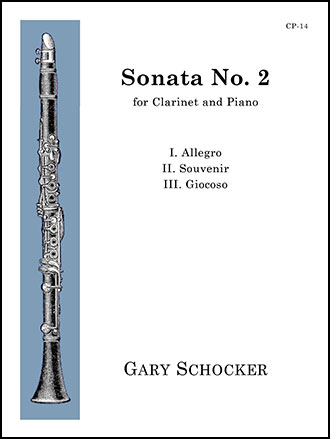 Sonata #2 for Clarinet and Piano