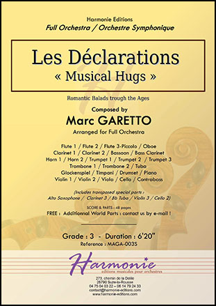 Musical Hugs - Les Declarations