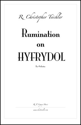 Rumination on Hyfrydol