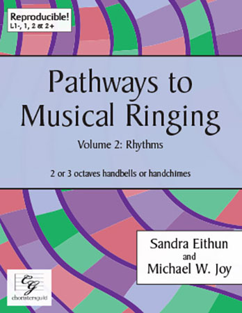 Pathways to Musical Ringing, Vol. 2 - Rhythms handbell sheet music cover