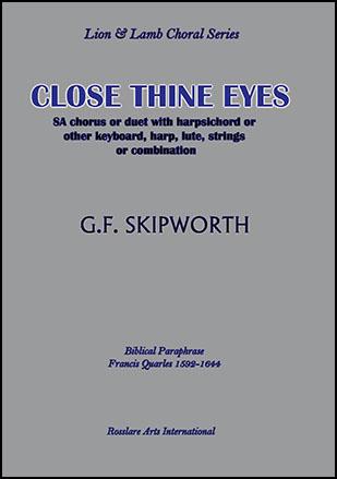Close Thine Eyes