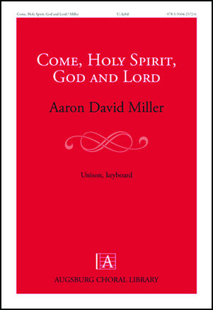 Come, Holy Spirit, God and Lord