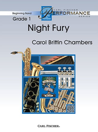 Night Fury choral sheet music cover