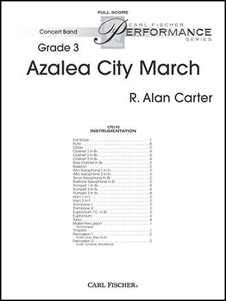 Azalea City March Additional Score By R Jw Pepper Sheet Music