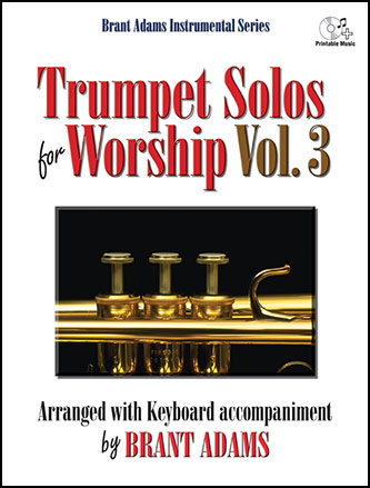 Trumpet Solos for Worship, Vol. 3 brass sheet music cover