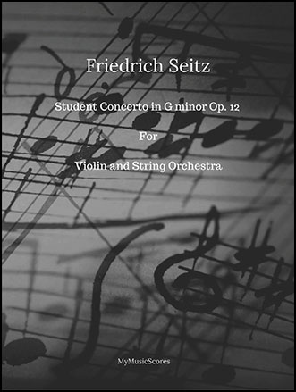 Seitz Student Concerto No.3 for Violin and String Orchestra