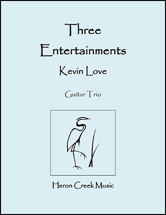 Three Entertainments for Guitar Trio