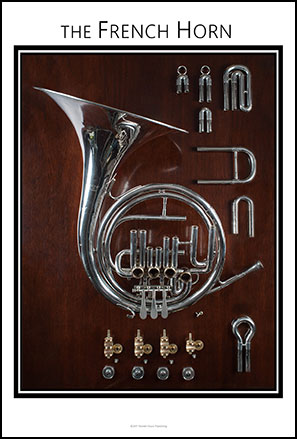 French Horn  Anatomy Chart