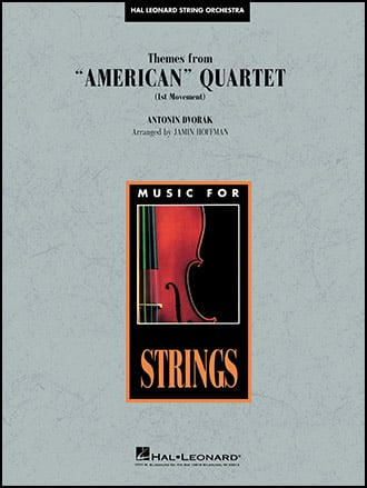 Themes from American Quartet choral sheet music cover