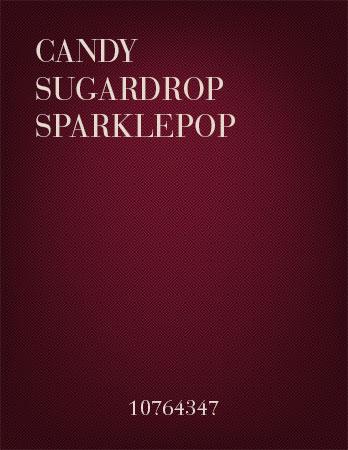 Candy Sugardrop Sparklepop
