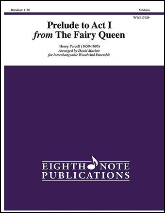 Prelude to Act No.1 from The Fairy Queen