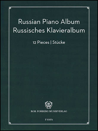Russian Piano Album (Piano) by Various Composers| J W