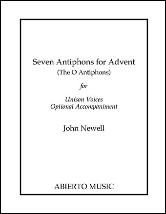 Seven Antiphons for Advent